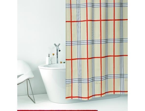 Штора для ванной Bacchetta 180х200 Fabric