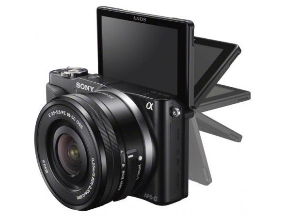 Цифровой фотоаппарат Sony Alpha NEX-3NY kit 16-50 + 55-210*