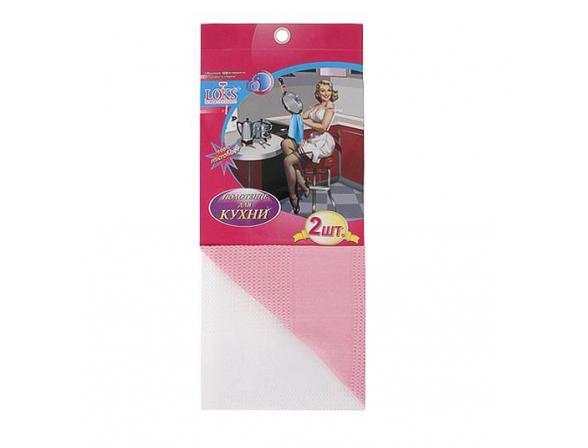 Набор полотенец микрофибра LOKS 2шт L100607