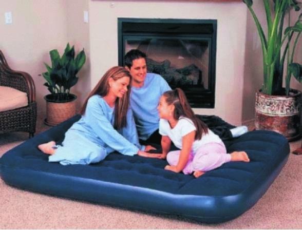 Кровать надувная Bestway Flocked Air Bed Queen 67003