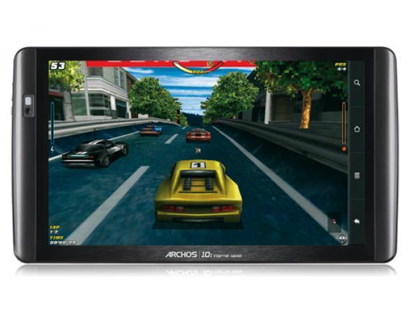 Планшет Archos 101 Internet Tablet 8Gb черный