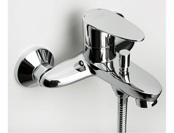 Смеситель для ванны с коротким изливом WasserKRAFT Leine 3501