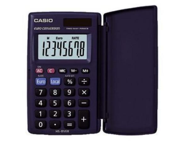 Калькулятор карманный Casio casHS-8VER-S-GH