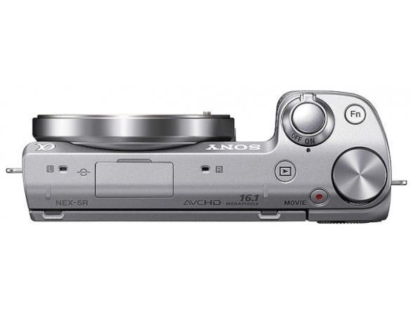 Цифровой фотоаппарат Sony Alpha NEX-5R Body Silver