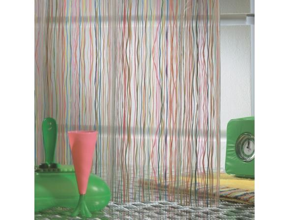 Шторка SEALSKIN Rigato 180х200, винил, разноцветный (212181302)
