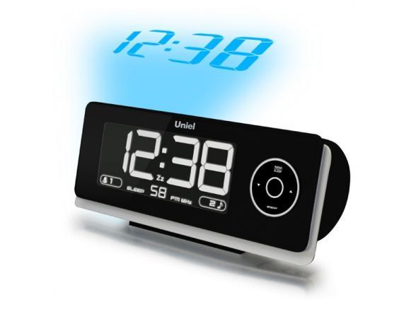Проекционные часы с FM-радио и будильником Uniel UTP-43K