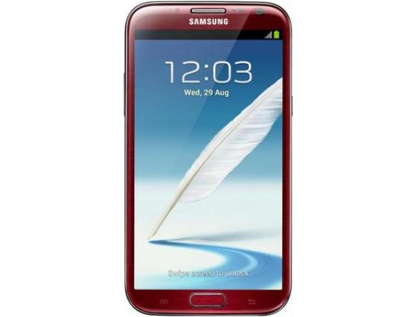 Смартфон Samsung Galaxy Note II 16Gb RedGT-N7100