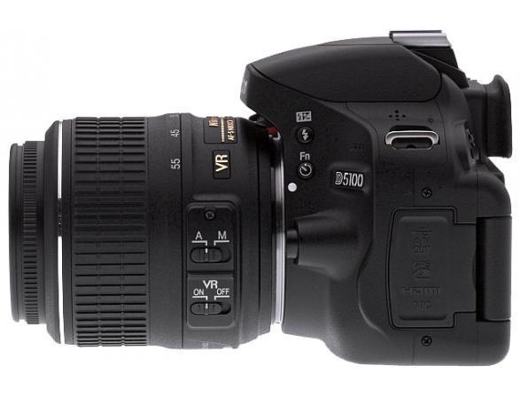 Зеркальный фотоаппарат Nikon D5100 Kit 18-55 VR