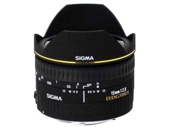 Объектив Sigma AF 15mm f/2.8 EX DG DIAGONAL FISHEYE SONY