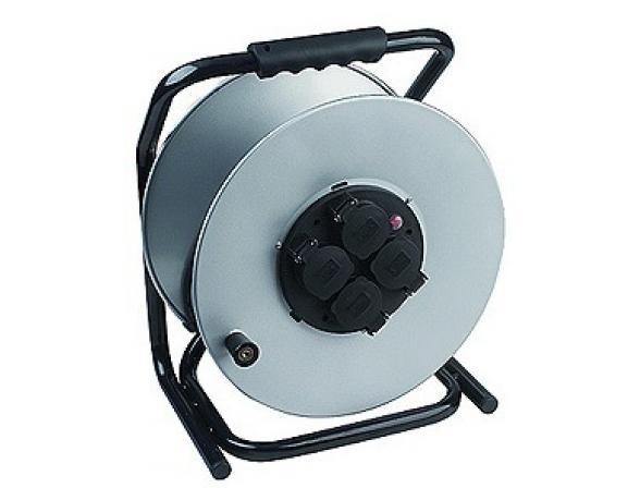 Удлинитель силовой ЭРА RM-4-3x1.5-50m-IP44 с заземлением 50м 4гн 3х1.5мм2 (2)
