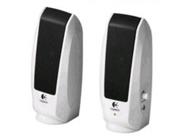 Колонки Logitech S-120  2.0, White (980-000018)