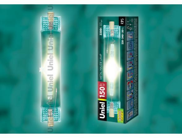 Лампа металлогалогенная Uniel MH-DE-150/3300/R7s