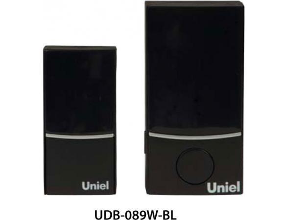 Звонок беспроводной Uniel UDB-089W-R1T1-32S-100M-BL