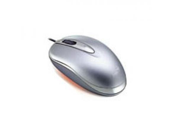 Мышь Genius NetScroll Mini Traveler Silver USB+PS/2