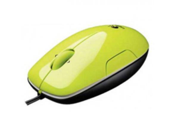 Мышь Logitech LS1 Laser Mouse Green USB 910-001111