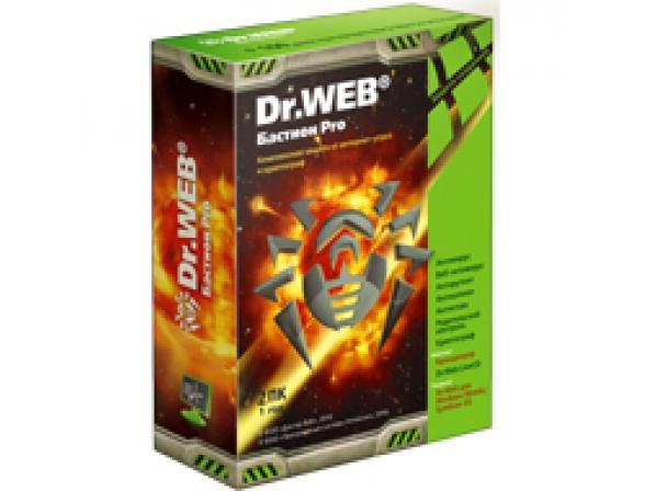 Антивирус Dr.Web Бастион Pro на 12 мес. на 2ПК