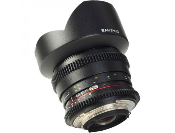 Объектив Samyang 14mm T3.1 ED AS IF UMC VDSLR Canon EF