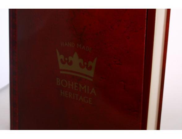Набор для дам Crystalite Bohemia Heritage*3 Шкатулка/конфетница/подставка для колец (497)