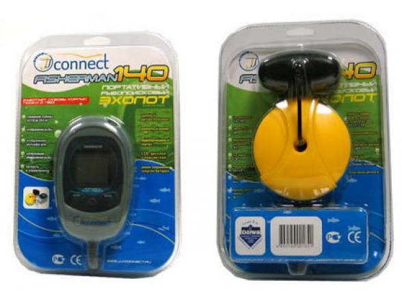 Эхолот JJ-Connect Fisherman 140