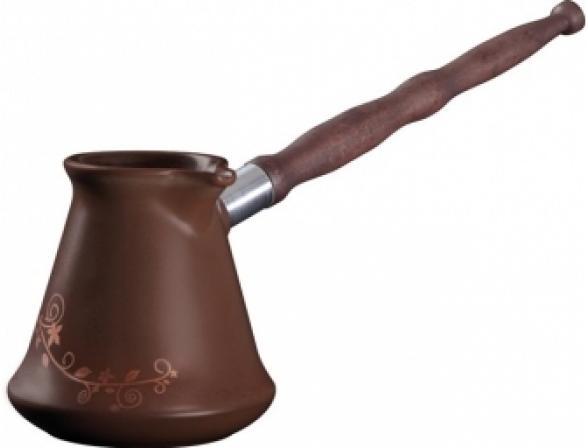 Турка Ceraflame Ibriks с декором 350мл  шоколад