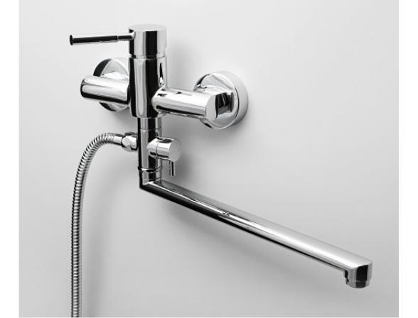 Смеситель для ванны с длинным поворотным изливом WasserKRAFT Main 4102L