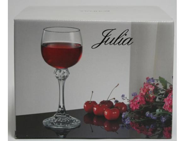 Набор бокалов для вина Bohemia Crystall Джулия/435261/150