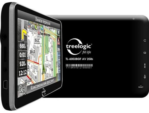 Навигатор Treelogic TL-6003BGF AV 4Gb