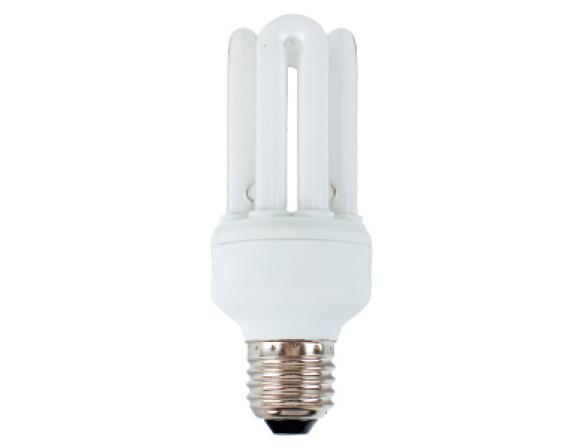 Лампа энергосберегающая ЭРА 4U Sensor-15-842-E27 яркий свет (10/50/1600)