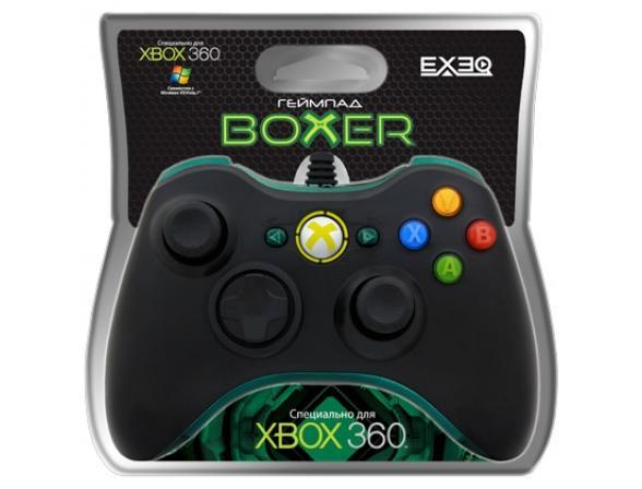Геймпад EXEQ Boxer (Xbox360/PC) (eq-360-02120)