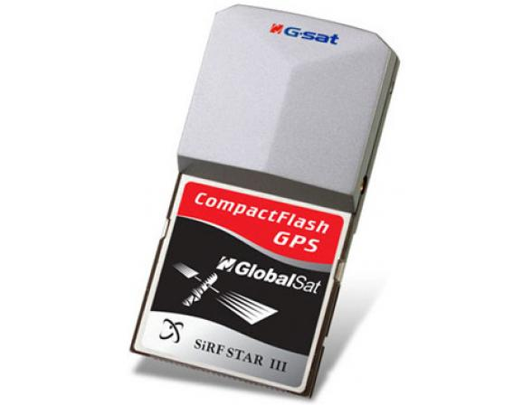 Нав.адаптер GlobalSat BC-337 GPS CF (SiRF III)