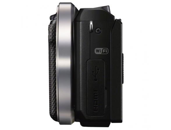 Цифровой фотоаппарат Sony Alpha NEX-5R Body Black
