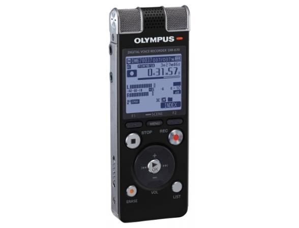 Диктофон Olympus DM-670 [V407111BE000]