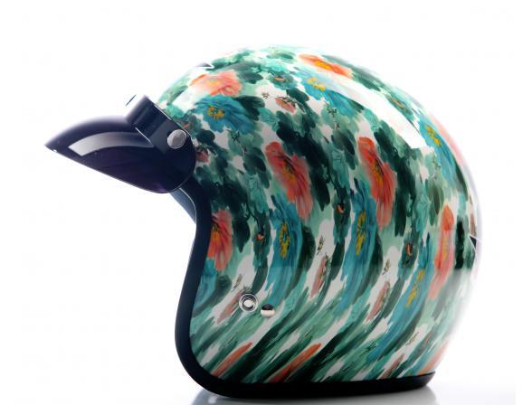 Шлем Yashiro Y500 Helmet Chinese Flower M