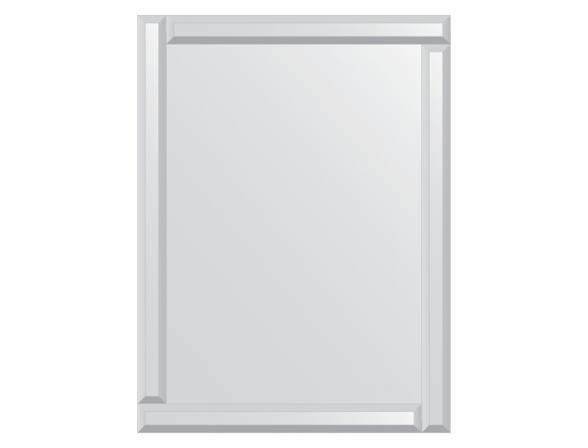 Зеркало с зеркальным обрамлением EVOFORM Style (60х80 см) BY 0806