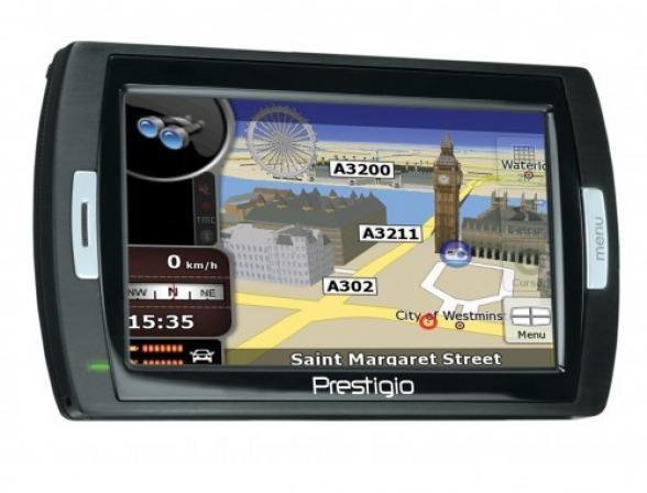 GPS-навигатор Prestigio GeoVision 450BT