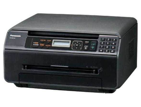 Многофункциональный аппарат Panasonic KX-MB1500RUB (принтер/сканер/копир) черный