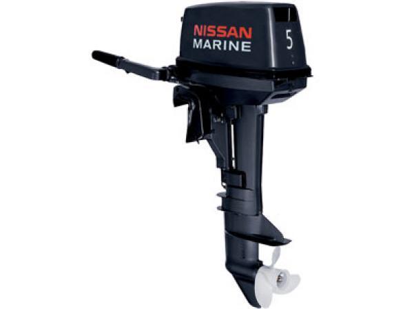 Лодочный мотор NISSAN MARINE 2-х тактный NS 5 B D1