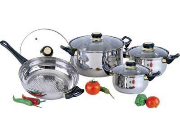 Набор посуды BEKKER Classik BK-207
