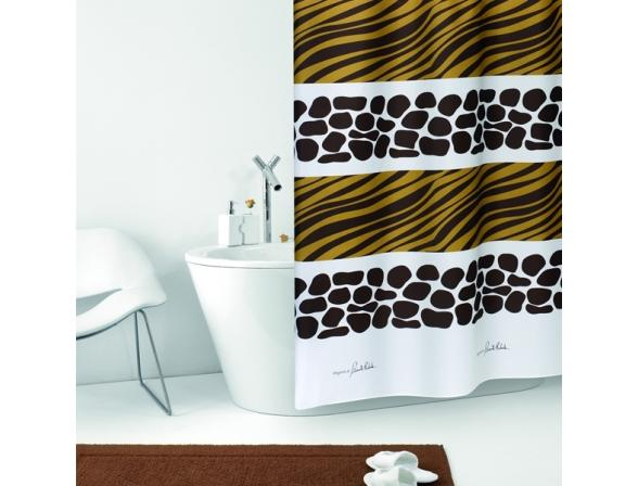 Штора для ванной Bacchetta 180х200 Savanna