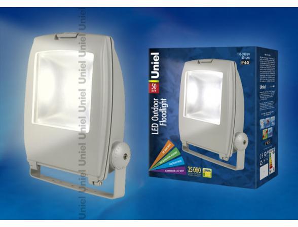 Прожектор Uniel ULF-S02-50W/WW IP65 110-240В GREY