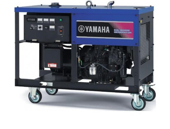 Бензогенератор Yamaha EDL16000E