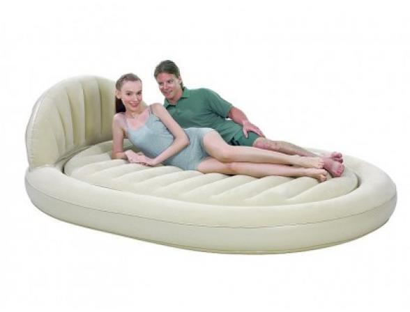 Кровать надувная Bestway Royal Round Air Bed 67397