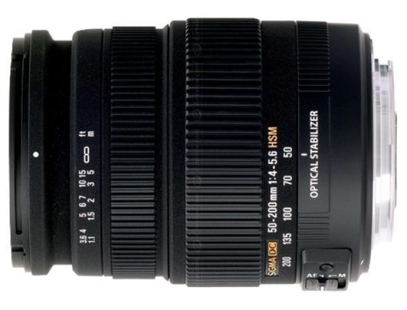 Объектив Sigma AF 50-200mm F4-5.6 DC OS HSM CANON*