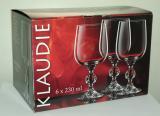 Набор бокалов для вина Bohemia Crystall Клаудия/20733S/230