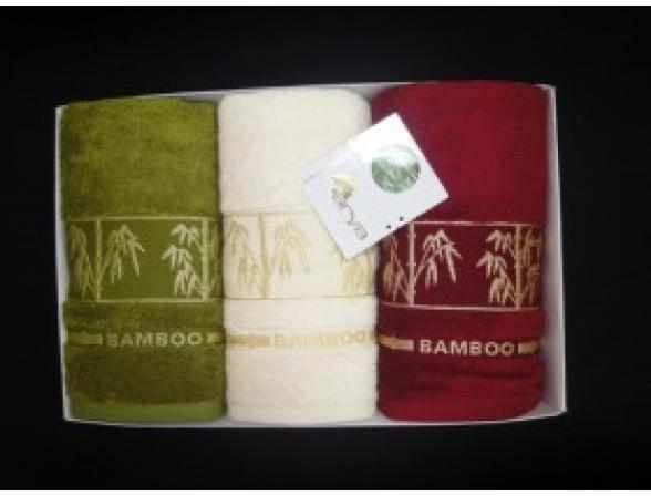 Комплект полотенец FAKILI Бамбук 3 пр. 70х140