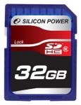 Флеш память Silicon Power 32Gb SDHC Class 6