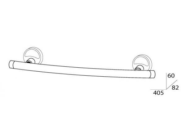 Держатель полотенца FBS ELLEA 40 см ELL 030
