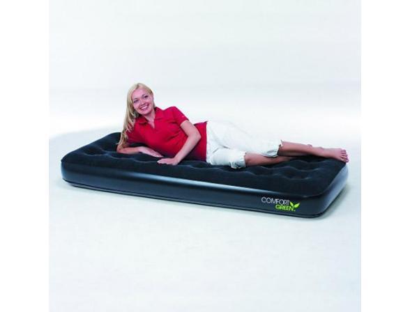 Кровать надувная Bestway Comfort Green Single 67379