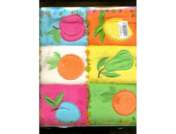 Набор салфеток ARYA Lares Soft  6пр. 30х50