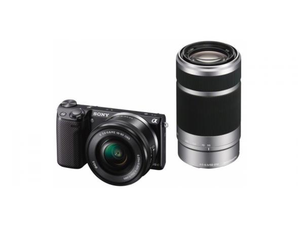 Цифровой фотоаппарат Sony Alpha NEX-5RY Kit 16-50 + 55-210 Black*